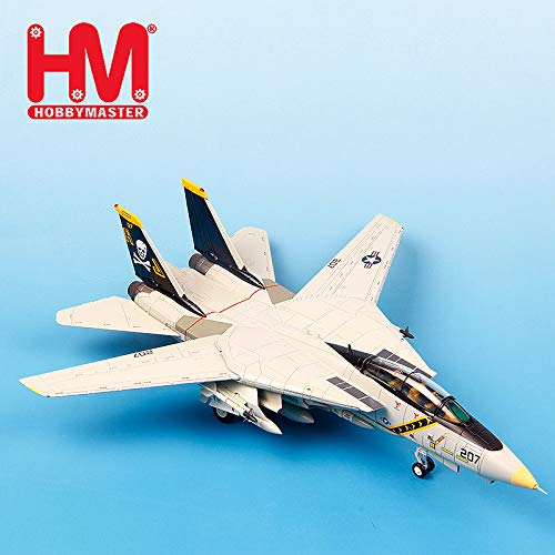- Hobbymaster Hobby Master USA Grumman F-14 Tomcat Jolly Rogers 1/72 diecast Model Aircraft