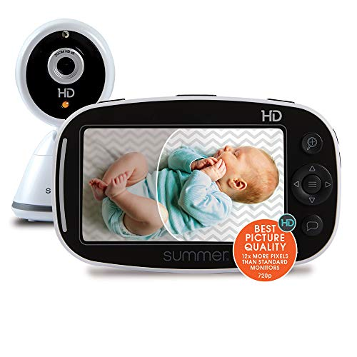 Summer Baby Pixel Zoom HD Video Baby Monitor with 5