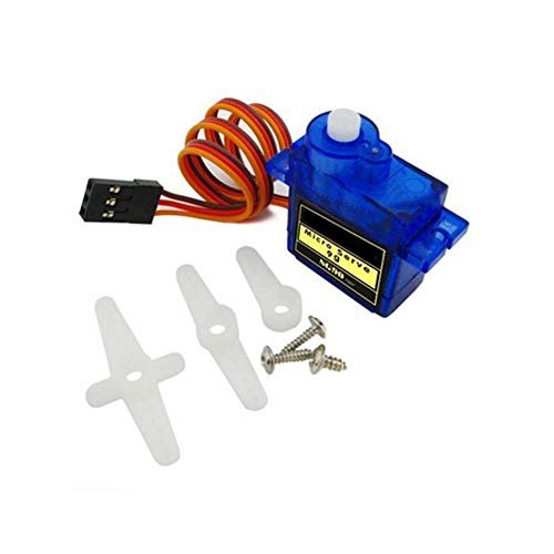 SG90 Micro Servo Motor 9G RC Robot Helicopter Airplane Boat Controls Mini Metal Geared Micro Servo Motor 9G for RC Helicopter Plane Boat Car Very Affordable and Useful of Power Tool Accessories