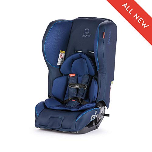 Diono Rainier 2AX Convertible Car Seat, for Children from Birth to 65 Pounds, Blue