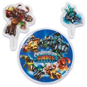 Skylanders Cake Decorating Topper Set 3 Pcs By Bakery Crafts