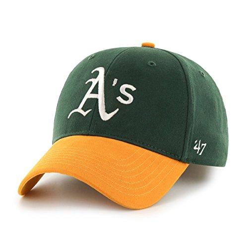 MLB Oakland Athletics Basic Mvp Adjustable Hat, Toddler, Home Color