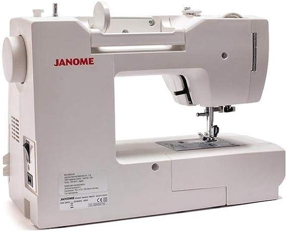 Janome 780DC máquina de coser computarizada. Ahorra 50 € Máquinas ...