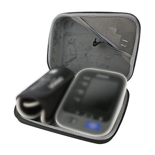 co2CREA Carrying Travel Storage Organizer Case Bag for Omron 7 Series Wireless Upper Arm Blood Pressure Monitor (BP761/BP760/BP760N)