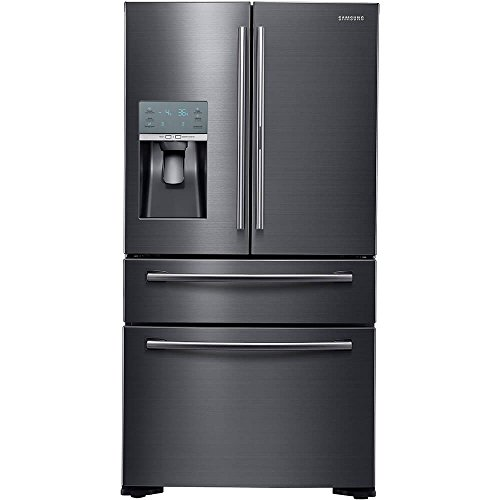 Samsung RF22KREDBSG/RF22KREDBSG/AA/RF22KREDBSG/AA RF22KREDBSG 22.4 Cu. Ft. Black Stainless French-FoodShowcase Door Counter Depth Refrigerator
