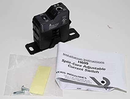 Veris Hawkeye H609 Adjustable Trip Current Switch Electronic