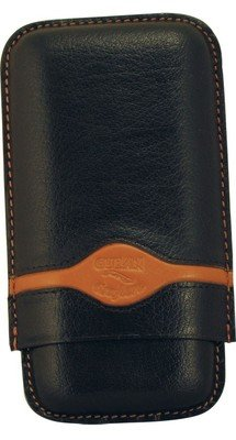 3 FINGER CIGAR CASES TURINO SPORT by CUBAN CRAFTERS - HANDCRAFTED LEATHER CASE Cuban Crafters Robusto Cigars