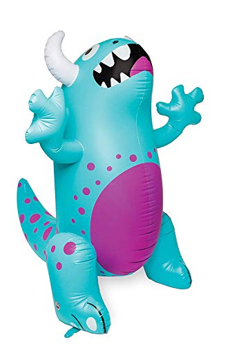 (BigMouth Inc. Ginormous Inflatable Cute Monster Yard Summer Sprinkler, Stands Over 6 Feet Tall, Perfect for Summer)