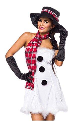 Snowgirl Skirt - Snowgirl of Luxury & Good Lingerie XS-M White/Black