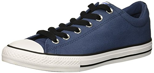 - Converse Boys' Chuck Taylor All Star Street Sneaker, Grey/Blue, 6 M US Big Kid