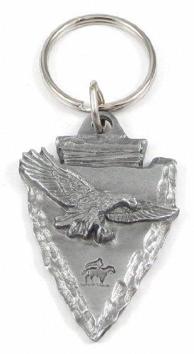Arrowhead Eagle (Arrowhead with Eagle Antiqued Keyring)