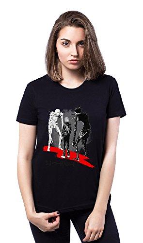 Death Note Zombies Red Black Damen T-shirt
