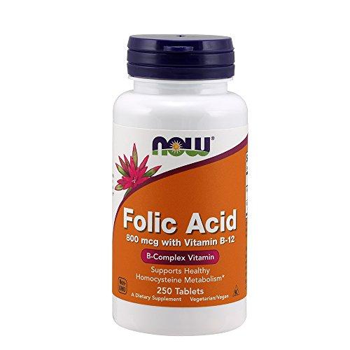 NOW Folic Acid Vitamin Tablets