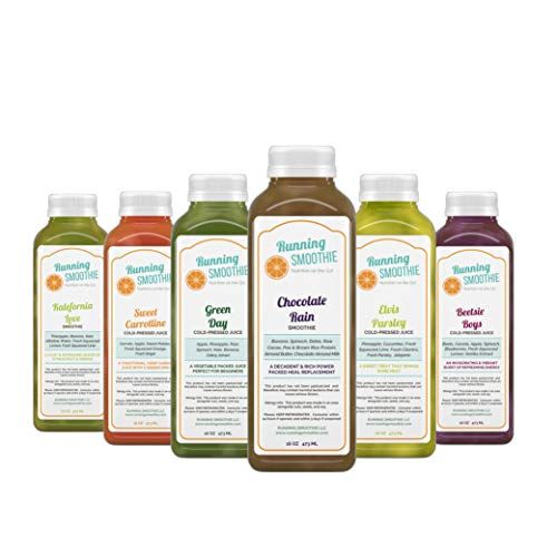 2 Day Energy Balance Organic Juice Cleanse + Free Ginger or Turmeric Shots Included - 12 bottles