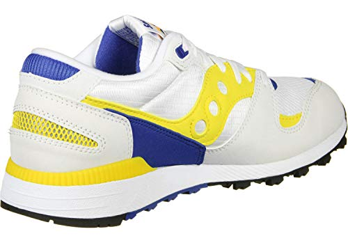 70437 White Yellow Blue sneakers Azura Saucony E0wqZat