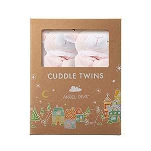 Angel Dear Cuddle Twin Set, Pink Lamb