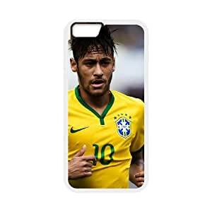 Neymar iPhone 6 4.7 Inch Cell Phone Case White Qiavr