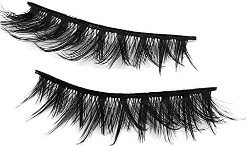 3cfe5dadd12 WENSY imitation water mane 5 pairs of 3D artificial natural fiber  waterproof thick eyelash eye beauty cosmetics