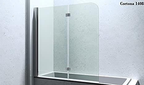 Vasca Da Bagno Trasparente : Box esterno per vasca da bagno trasparente acidato bi fold quadrato