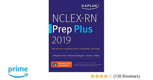 NCLEX-RN Prep Plus 2019: 2 Practice Tests + Proven