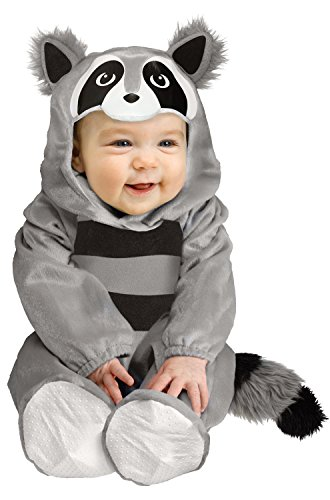 Fun World Baby Raccoon Costume - Infant Large -