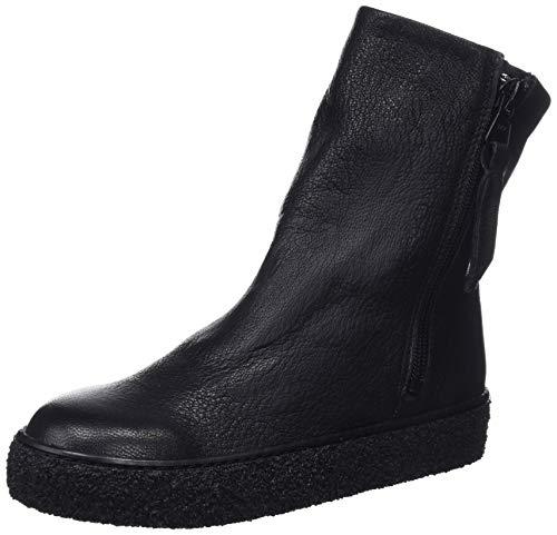 Leather Para Leonor Botas Real 001 Slouch black Negro Mujer Mamatayoe Z1Tw4xw