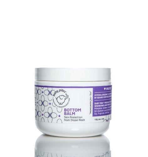 baby pibu Bottom Balm - Fragrance Free - 4 oz ()