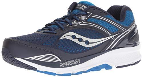 Saucony Men's Echelon 7 Running Shoe, Navy   Blue, 10 W US
