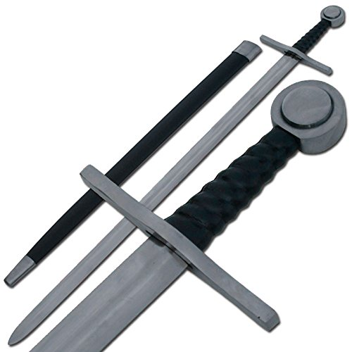 Medieval European Knights Arming Crusader Sword