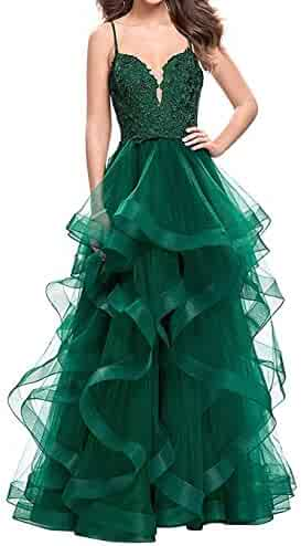 43386032a8d86 Ci-ONE Lace Wedding Dress Long Formal Evening Dress Sweetheart Prom Dress  with Ruffles
