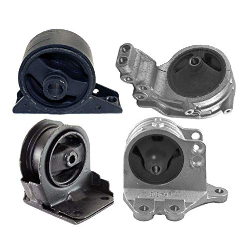 ONNURI For 1995-1998 Eagle Talon TSi 2.0L MANUAL Motor & Trans Mount Set 4pcs : A6657 A4623 A6662 A6672 - K1334