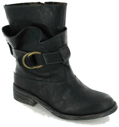 Dog Rocket Garnet Noir Boots Femme Txpq8