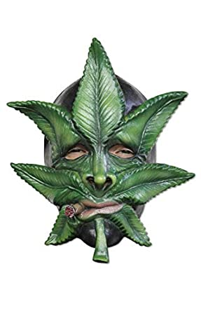 Máscara de marihuana