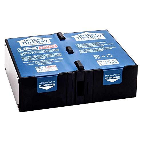 New Battery Pack for APC Back-UPS Pro 1000 - BX1000G Compatible Replacement by UPSBatteryCenter from UPS Battery Center
