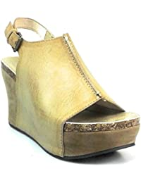 Hester-14 Womens Platform Wedge Open Toe Sandals