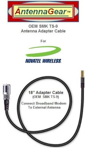 Novatel Verizon USB760, Sprint Ovation U760, MC760 USB Modem External Antenna Adapter Cable -