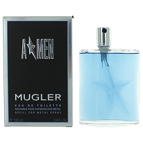 Angel Refill (Thierry Mugler A Men For Men. Eau De Toilette Spray Refill 3.4 Ounces)