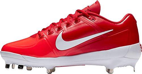 Nike Menns Luft Clipper 17 Metall Baseball Cleats Oss Rød / Hvit