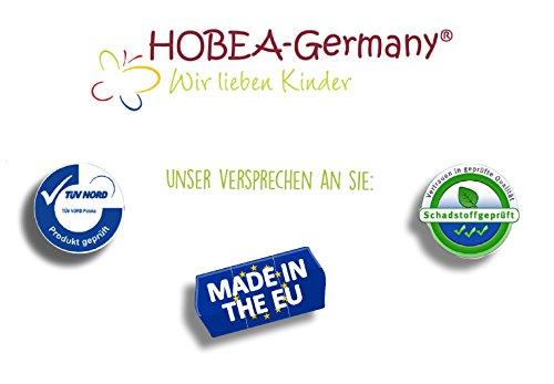HOBEA-Germany Unisex Baby Ladybird Krabbelschuhe Schwein hell