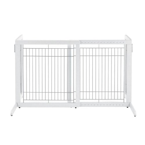 Richell Freestanding Hardwood Dog Gates