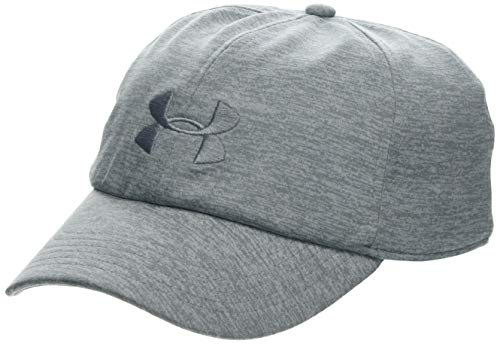 Ladies Ball Cap - Under Armour Women's Twisted Renegade Cap, Steel (035)/Steel, One Size