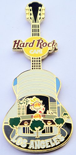 2006 Acoustic Guitar Series Pin With Front Facade Of Hard Rock Cafe Los Angeles California ()