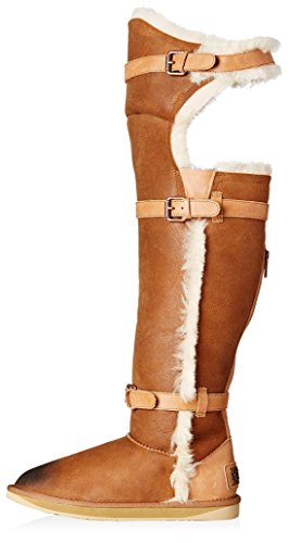 4988af0d6c Australia Luxe Collective Women's Machina X-Tall Shearling Boot with Buckles