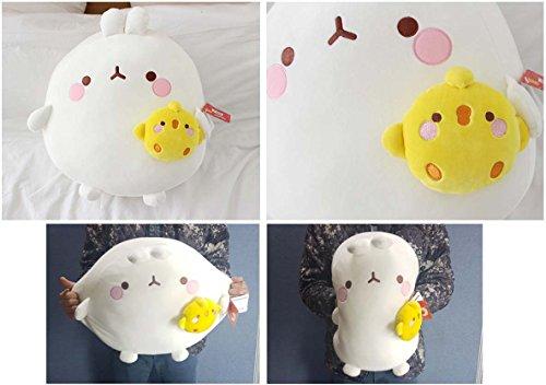 Molang Piu Piu Plush  | 16 Inches | Kawaii Pillows 4
