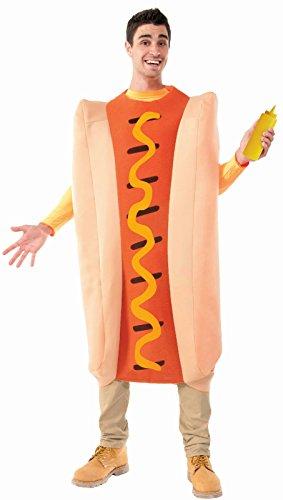 Forum Novelties Men's Hot Dog Costume, Multi, -