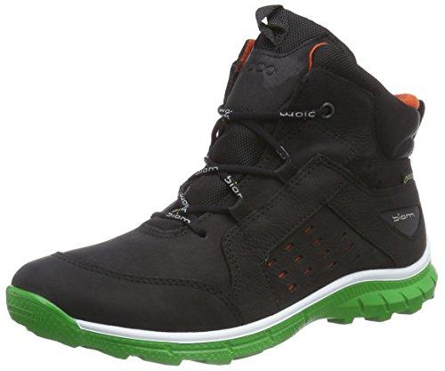 Ecco ECCO BIOM TRAIL KIDS - Zapatillas De Deporte Para Exterior de piel niños Negro (BLACK/MEADOW58115)