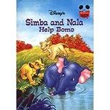 Simba and Nala Help Bomo - Book  of the Disney's Wonderful World of Reading