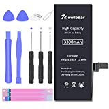 uowlbear 3300mAh Replacement Battery for iPhone 6 Plus A1522 A1524 A1593 with Complete