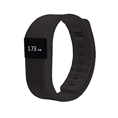 EZTeck® Wireless Smart Wrist Band Sleep Sports Fitness Activity Tracker Pedometer Bracelet Watch for Android and IOS Phone