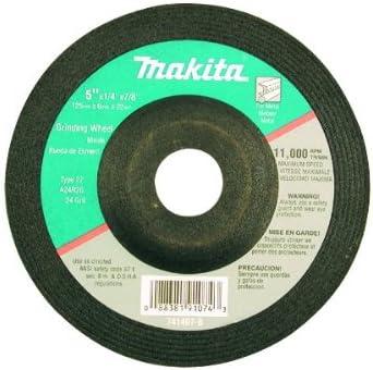 Makita 741407-B-25 5-Inch Grinding Wheel 25-Pack